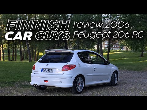 2005 Peugeot 206 RC review - The last of the analogue hot hatches
