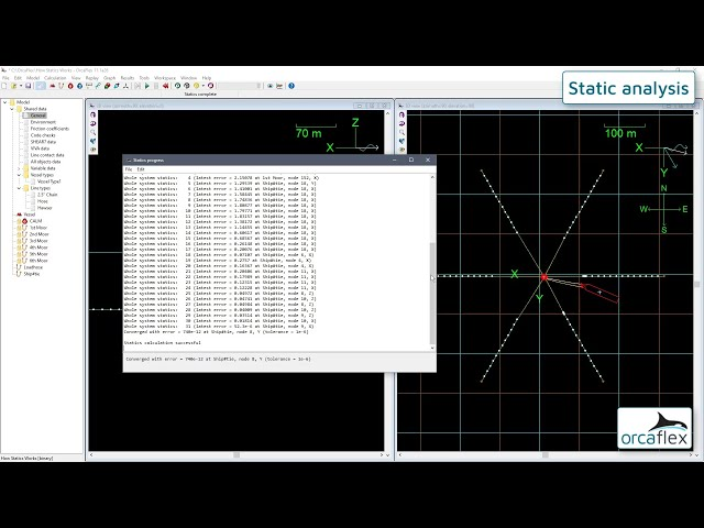 Introduction to OrcaFlex 7: static analysis