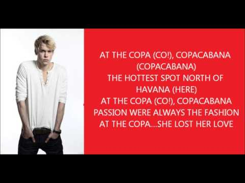 Glee - Copacabana lyrics
