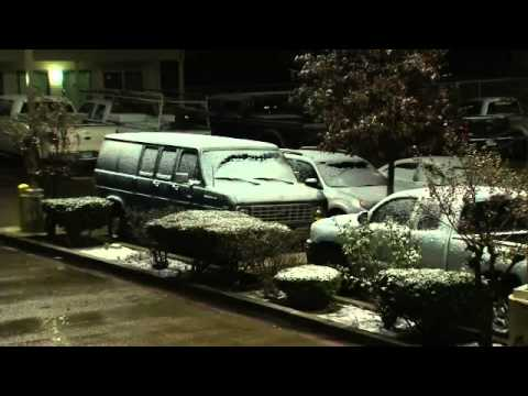 Snow & Sleet Hit Texas Hill Country Overnight