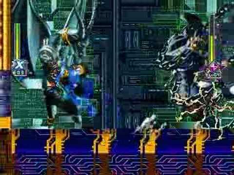 ROCKMAN X6 - Shadow Armor VS HiMAX