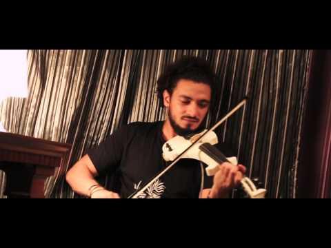 معاك قلبي - عمرو دياب - موسيقي Violin cover by AzMy