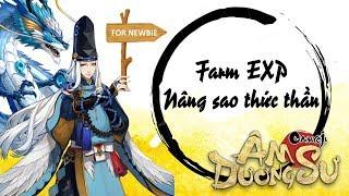 [Garena Âm Dương Sư] Farm EXP và Nâng sao thức thần