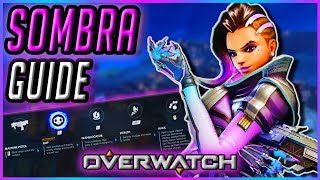 How To Play New SOMBRA   Guide & Gameplay Tips [Overwatch]