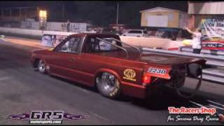 Algarete Racing (2JZ) Mazda B2200 6.93 1/4 mile Puerto Rico Drag Racing