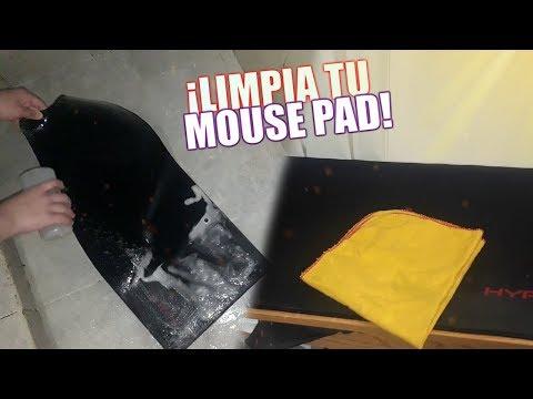 ¿Como limpiar tu MOUSE PAD?