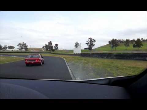 Eastern Creek Track Day - Megane chasing Commodore - Crashed Gemini