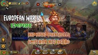 European War 5 : Empire [Barbarossa] - Emperor Red Beard
