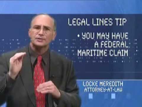 Legal Lines Tip - Boating Accidents & Maritime Claims 4