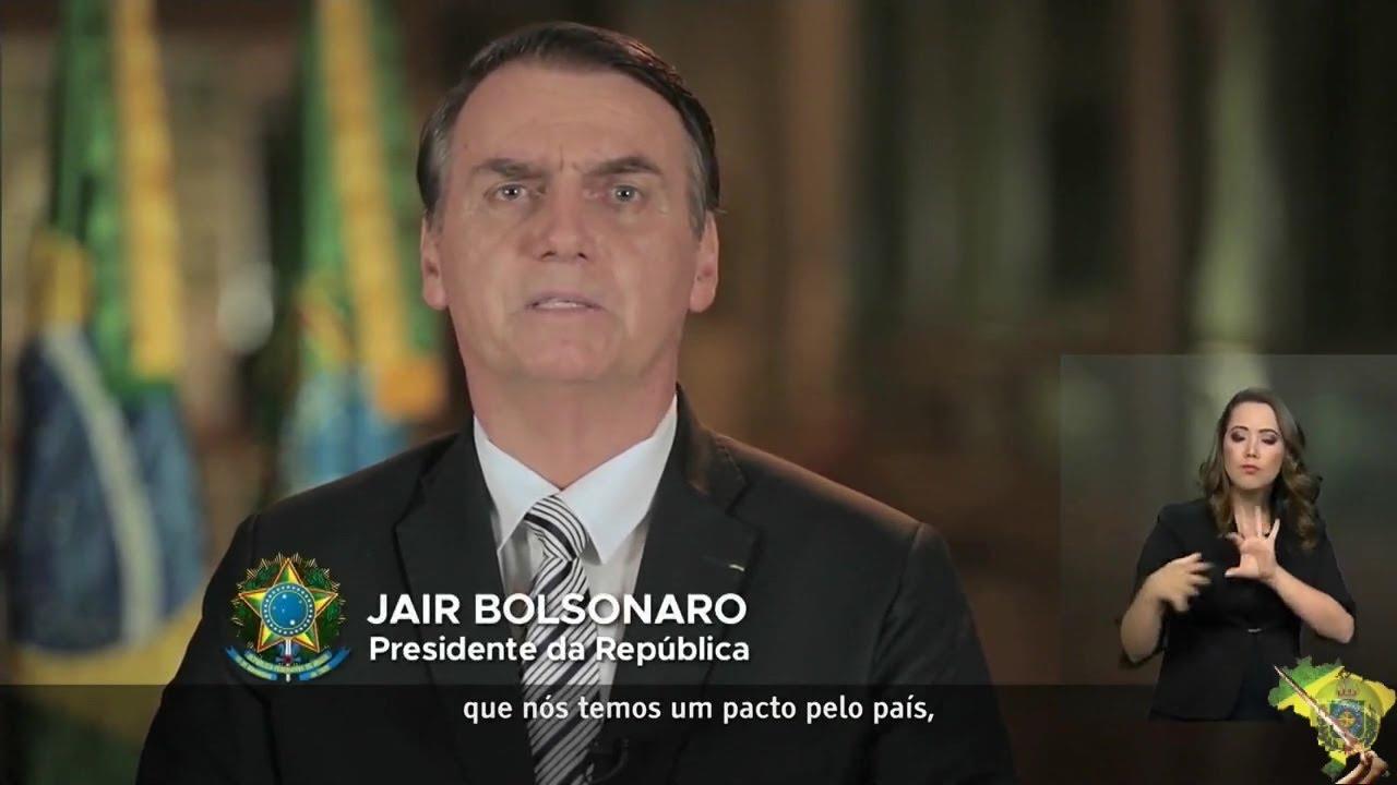 PRONUNCIAMENTO DO PRESIDENTE Jair Bolsonaro sobre a NOVA PREVIDÊNCIA - 20/02/2019