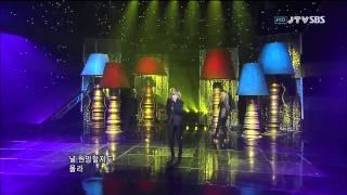 [SBS] Lagu populer 2NE1: Ugly (inkigayo 110807)