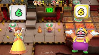 Super Mario Party Partner Party #339 Gold Rush Mine Mario & Bowser Jr vs Daisy & Wario