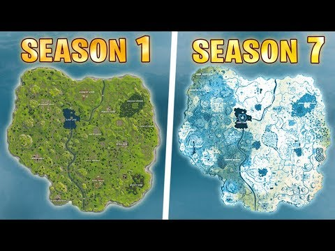 Evolution Of The Entire Fortnite Island