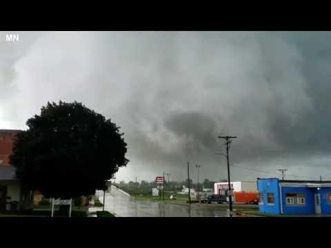 Apocalyptic Tornado Hits Iowa, Marshalltown And Bondurant - July 19, 2018