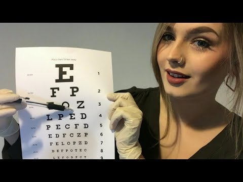 ASMR | Cranial Nerve Exam Roleplay - Soft Spoken (With Latex Gloves) ✨
