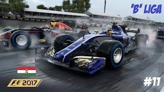 F1 2017 'B' LIGA // 11.FUTAM: MAGYARORSZÁG-BUDAPEST // SAUBER-FERRARI