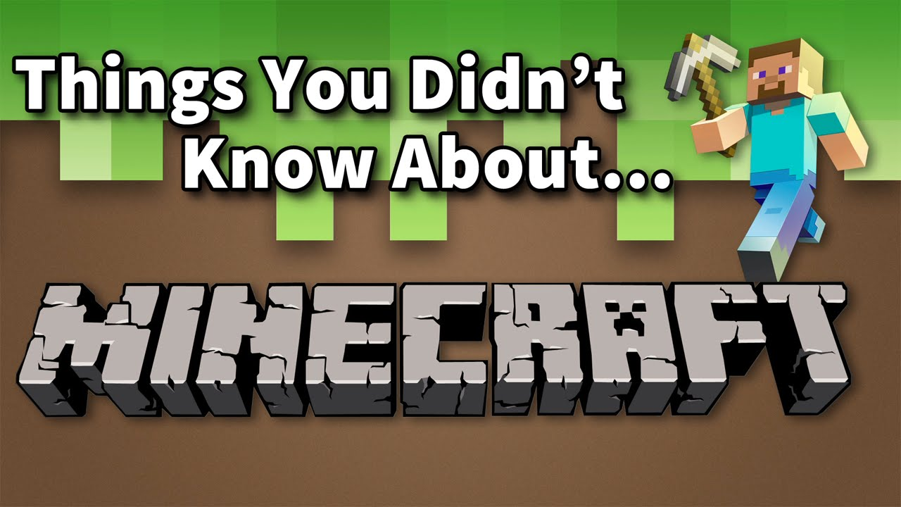 Things You Didn't Know About Minecraft! - YouTube