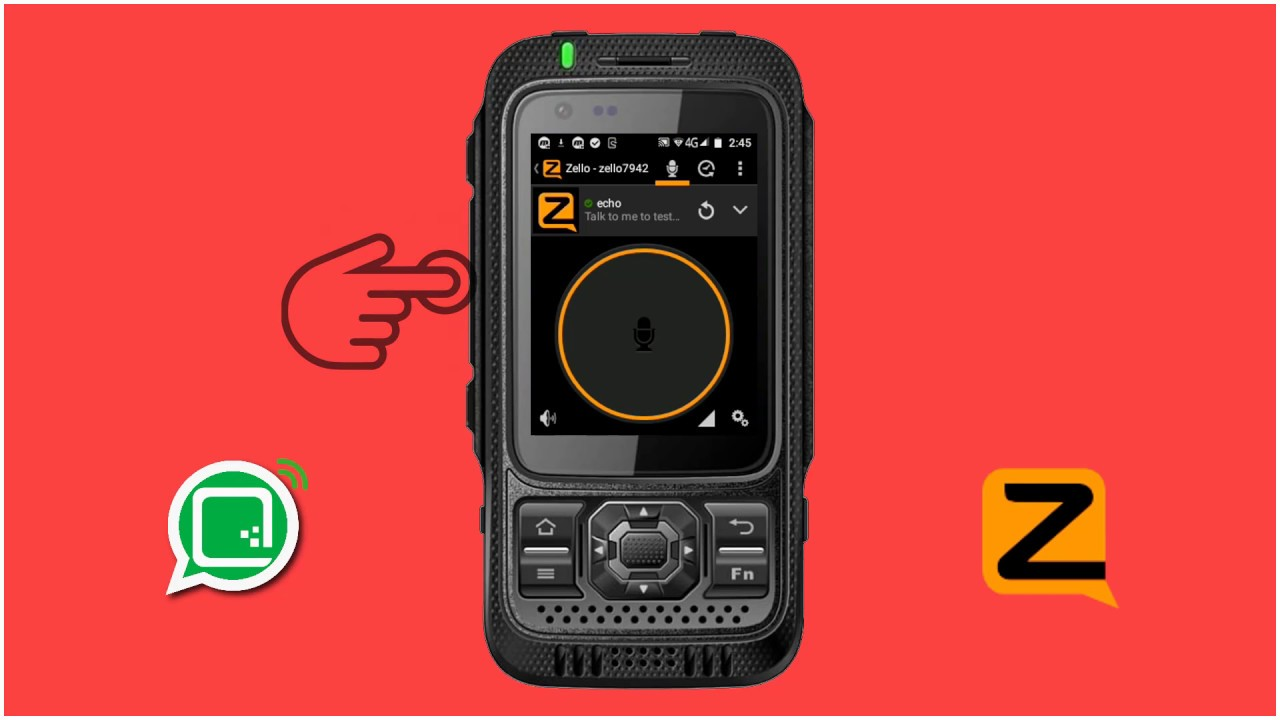 How To Set Zello Phone Settings  Poc, Dmr, Lte Andorid Walkie Talkie  App (젤로폰)(젤로닷컴)