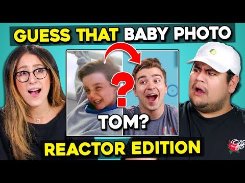 Can YOU Guess That Reactors Baby Photo? | FBE Staff React
