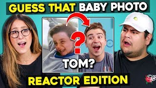 Can YOU Guess That Reactor\'s Baby Photo? | FBE Staff React