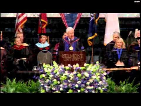 Belmont 2016 Commencement Speaker - Dr. Robert C. Fisher
