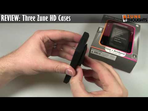 REVIEW: Three Zune HD Cases