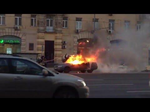 Ужасный пожар на кутузовском проспекте