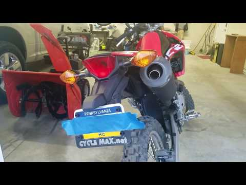 Honda CRF250L Cheap Stock Muffler Mod