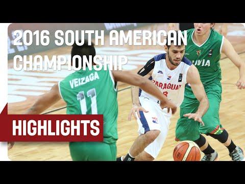 Paraguay (PAR) v Bolivia (BOL) - Game Highlights - Group A - 2016 South American Championship