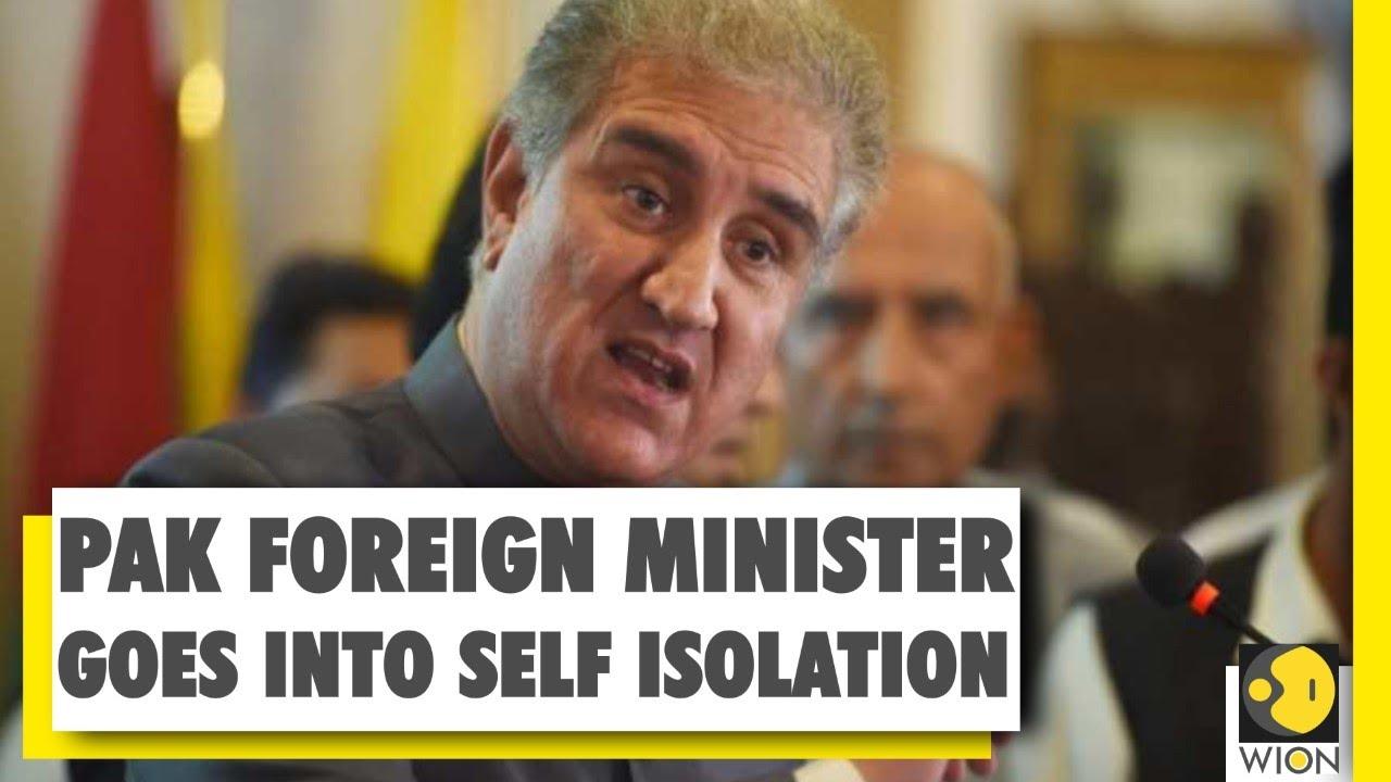 Coronavirus Outbreak: Pakistan's Foreign Minister goes into self isolation | Covid 19 | Pakista