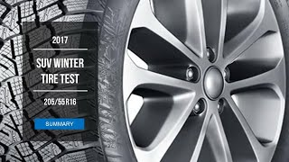 2017 Winter Tire Test Results | 205/55 R16 Studded