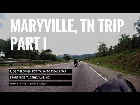 Maryville, TN Trip: Part 1- Passing by the Fontana Dam on our way to Deals Gap!