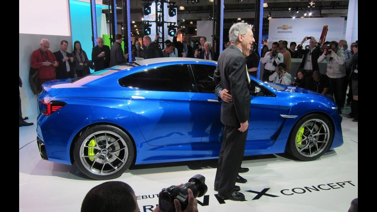 Subaru Impreza Wrx Sti Concept 2017 Auto Express