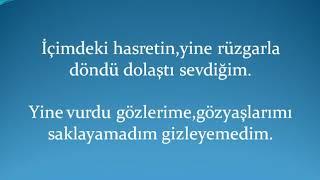 Bilal Sonses Sonu Gelmez Lyrics