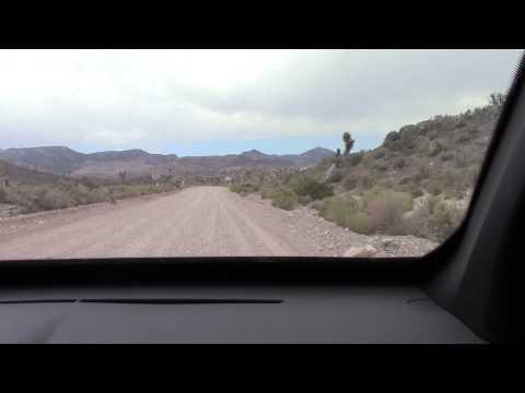Zone 51 Nevada - Arrivée à la limite (Entrée vers Groom Lake)