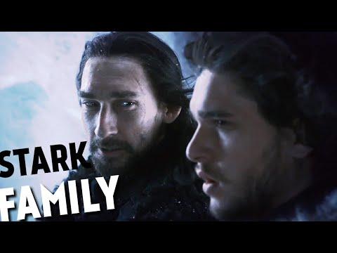 Stark Family Tree - Game Of Thrones