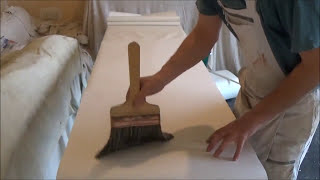How to paste and fold paper for ceilings and cross lining walls