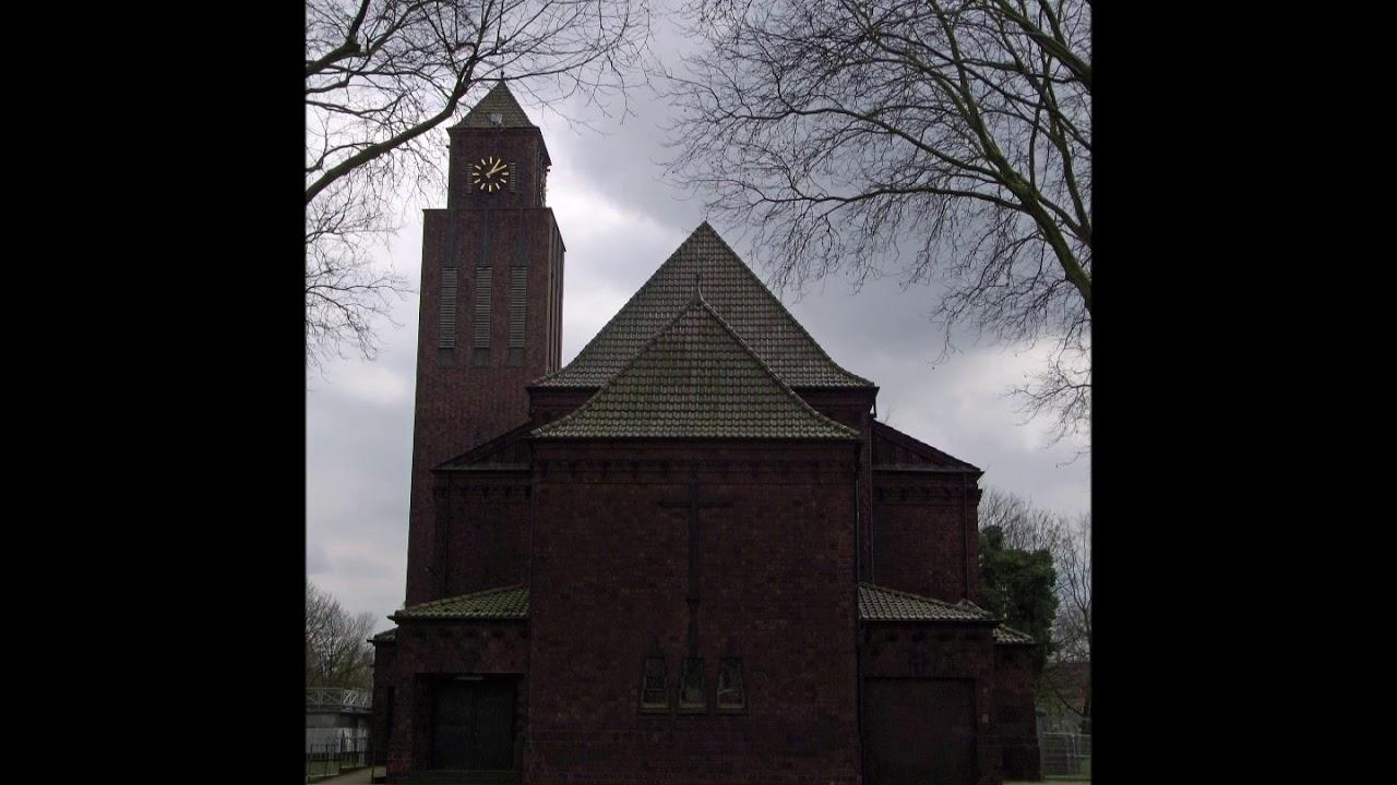 Dinslaken - Lohberg Kath. Kirche St. Marien Vollgeläut