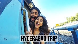 My time in HYDERABAD | VLOG | #LarsaTravels