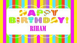 Riham Birthday Wishes & Mensajes