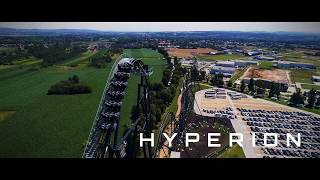 HYPERION Mega Coaster  Premier Test Drone - Energylandia Amusement Park Poland - Coming Soon