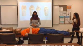 Research Project - Mummification in Egypt and China (Lizbeth Salinas and Jennifer Gamez)