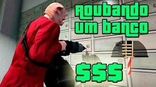GTA V: Vida do Crime #3 - Roubo ao Banco Fleeca