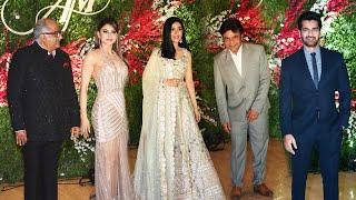 Jayantilal Gada's Son Aksshay And Murup Grand Wedding Reception | Uarvshia Rautela, Amrita Rao...