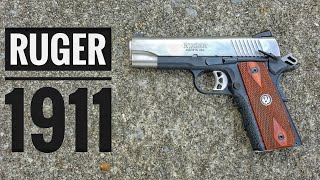 The Ruger 1911 is back, again... and may need some work