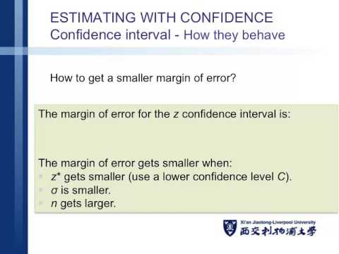 Lecture 9 - statistical inference