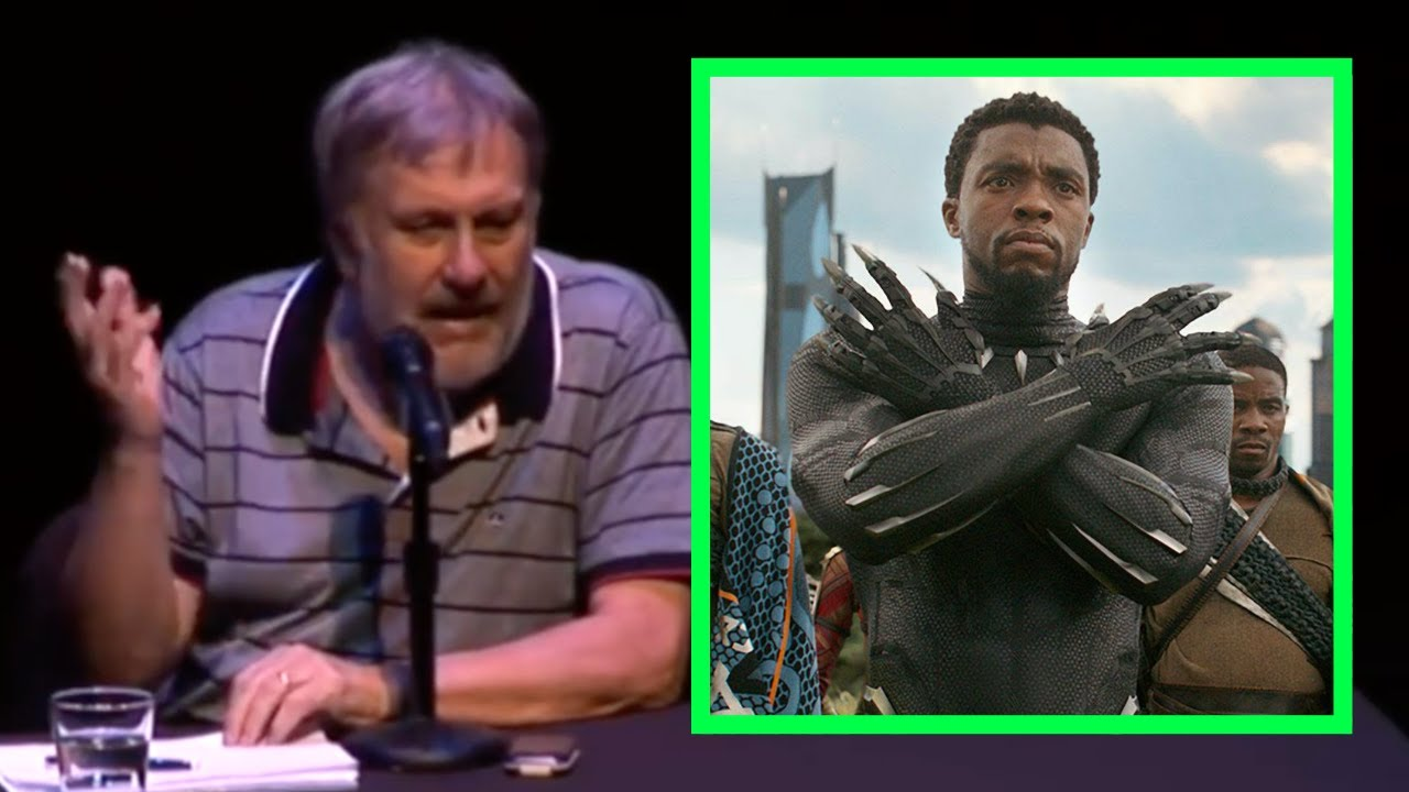 Slavoj Zizek— 'Joker', 'Black Panther' & 'the Dark Knight Rises'