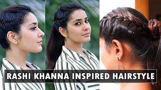 How to do Rashi Khanna's hairstyle Imaikkanodigal | SaySwag