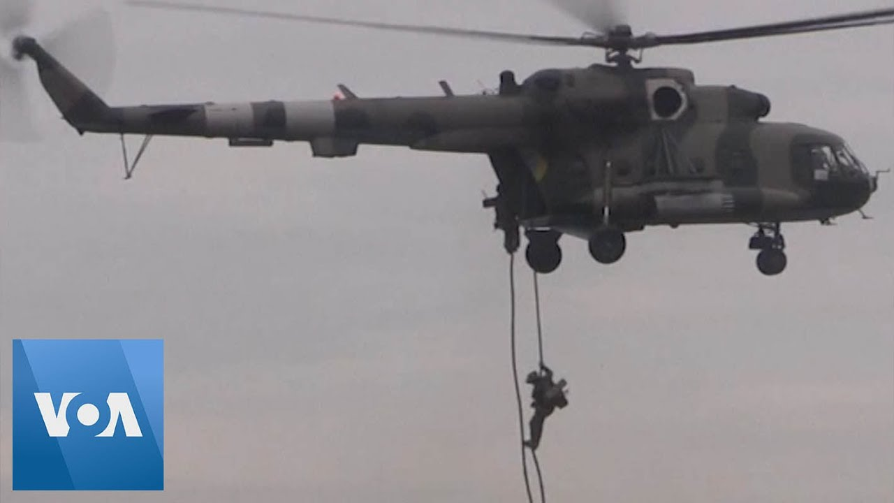 OPERATION - RAPID TRIDENT! - U.S. and Ukraine Paratroopers Train in Joint Military Exercise