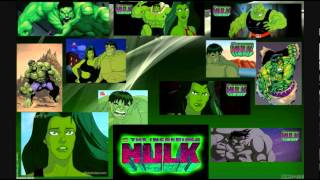THE Incredible Hulk 1996 theme